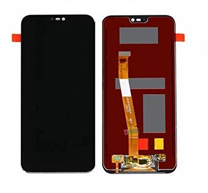LCD Display P10 LITE con frame Nero