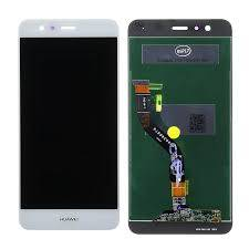 LCD Display P10 LITE con frame Bianco