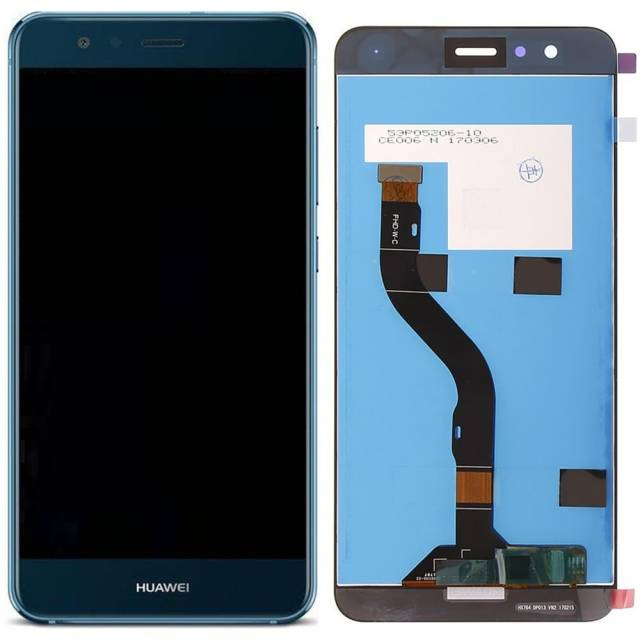 LCD Display P10 LITE con frame Blu