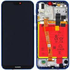 LCD Display P20 LITE con frame Blu