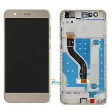 LCD Display P20 LITE con frame Gold