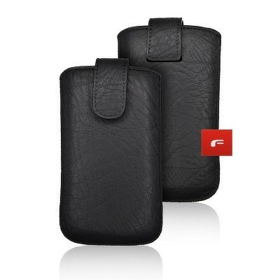 CUSTODIA  PELLE FORCELL - SLIM KORA 2 - APP Ipho XR