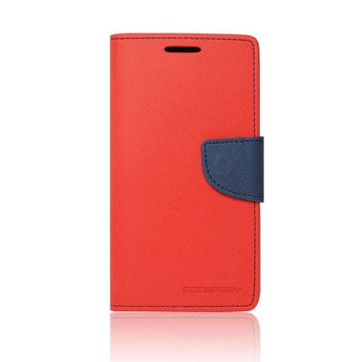 FANCY DIARY CASE MERCURY  IPHONE 5 / SE  ROSSO-BLU