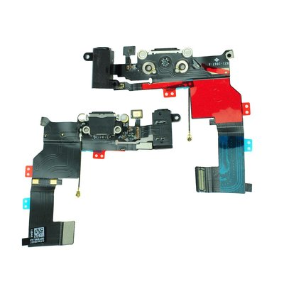 FLEX CABLE IPHONE 5S con il connettore per ricarica nero