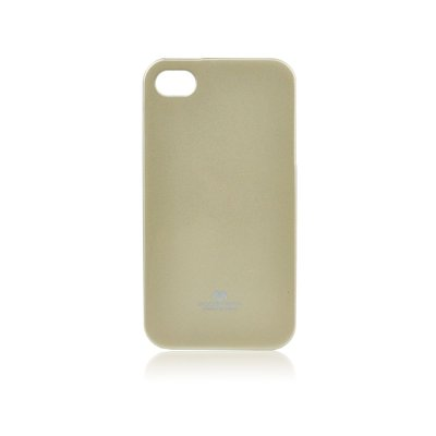 JELLY CASE MERCURY IPHO 4S/4G oro