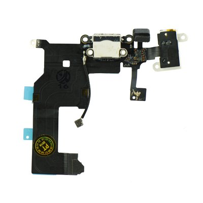FLEX CABLE IPHONE 5 con il connettore per ricarica (bianca)