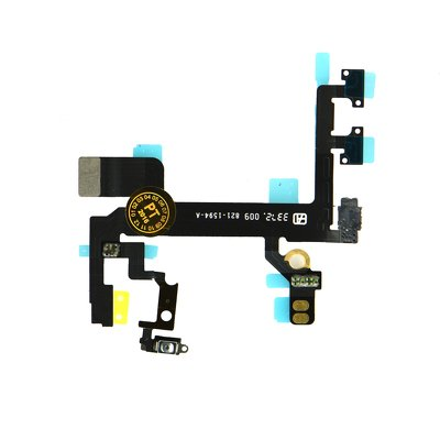 FLEX CABLE IPHONE  5S con on/off power + tasti laterali