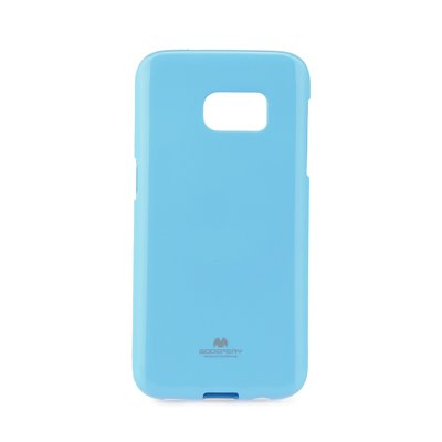 JELLY CASE MERCURY - SAM Galaxy S7 (SM-G930F) azzurro