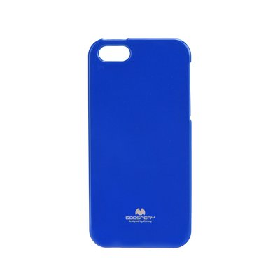 JELLY CASE MERCURY IPHONE 5 / SE azzurro