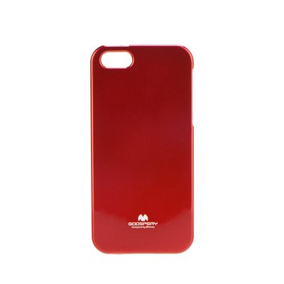 JELLY CASE MERCURY IPHONE 5 / SE rosso