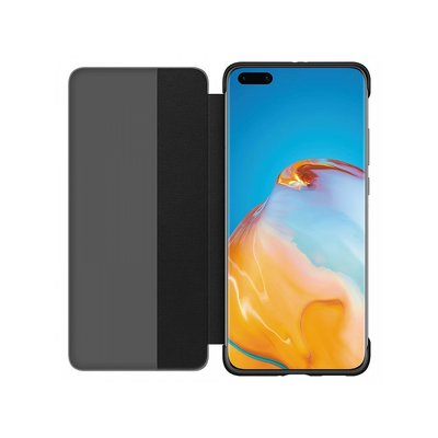 P40 Pro Smart View Flip Cover black blister