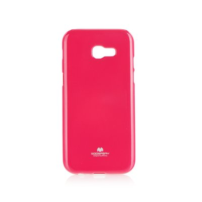 Jelly Case Mercury - SAM Galaxy A3 2017  rosa