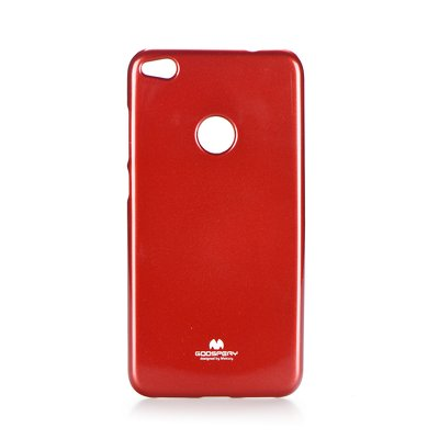 Jelly Case Mercury - HUA P8 Lite 2017 / P9 Lite 2017 / Honor 8 Lite rosso