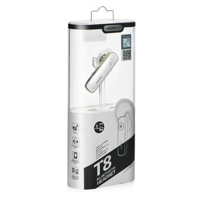 REMAX auricolare bluetooth RB-T8 bianco