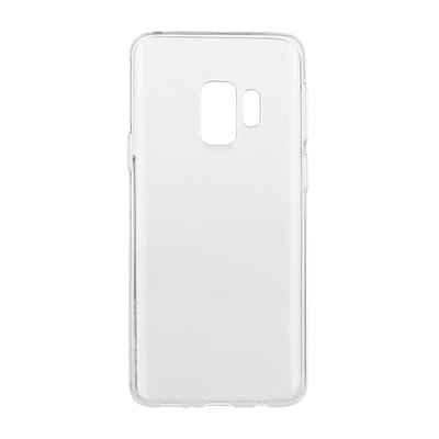 BACK CASE Ultra Slim 0,3mm - SAM Galaxy S9 TRASPARENTE