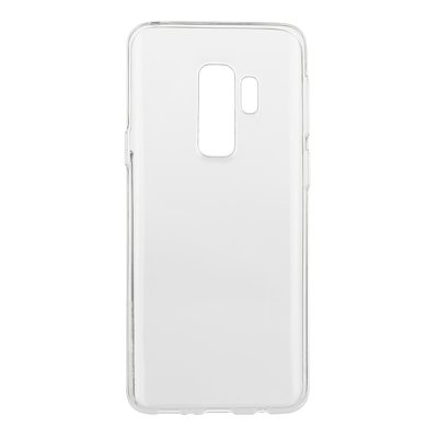 BACK CASE Ultra Slim 0,3mm - SAM Galaxy S9 Plus TRASPARENTE