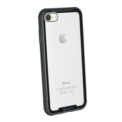 Roar Glass Airframe Cover - APP IPHO 7 / 8 NERO