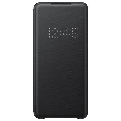 Original LED View Cover EF-NG988PBEGEU Samsung Galaxy S20 Ultra nero
