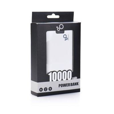 Power Bank SMARTOOLS MC10K 10000 mAh bianco