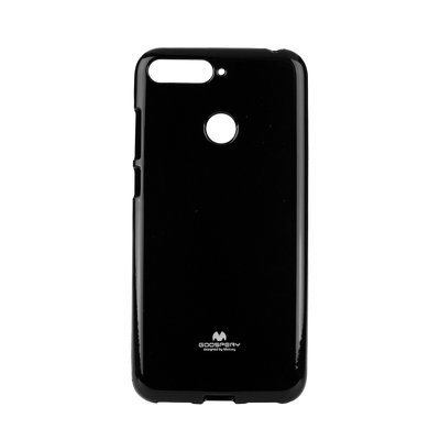 Jelly Case Mercury -HUA Y6 Prime 2018 nero