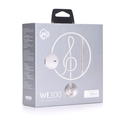 WK-Design Stereo WE300 bianco