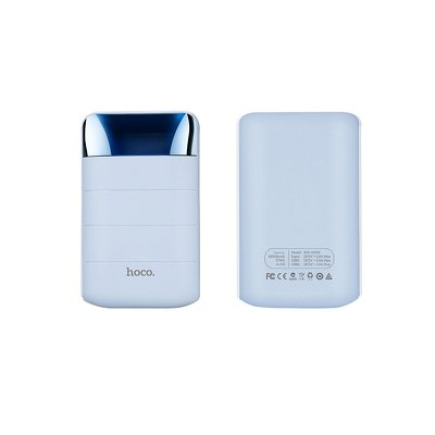 HOCO power bank 10 000 mAh con LCD B29 blu