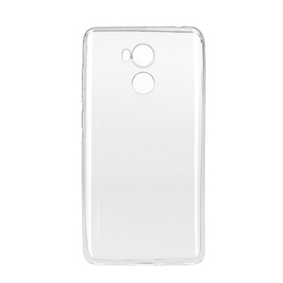 BACK CASE Ultra Slim 0,3mm - XIAOMI Redmi 4 PRO TRASPARENTE