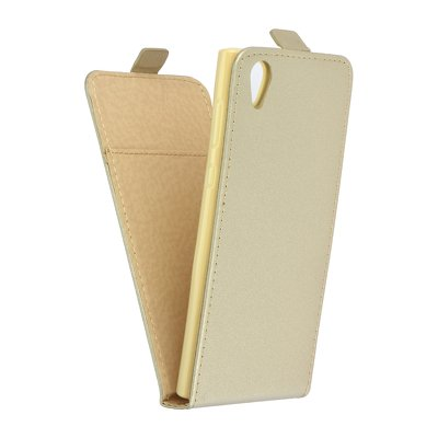 SLIM Flexi Fresh VERTICAL CASE - SON Xperia L1 gold