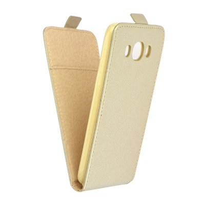 SLIM Flexi Fresh VERTICAL CASE  - SAM Galaxy J5 2016 gold