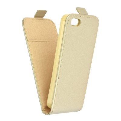 SLIM Flexi Fresh VERTICAL CASE - IPHONE 5G/5S/5SE gold