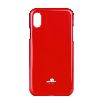 JELLY CASE MERCURY IPHONE X rosso