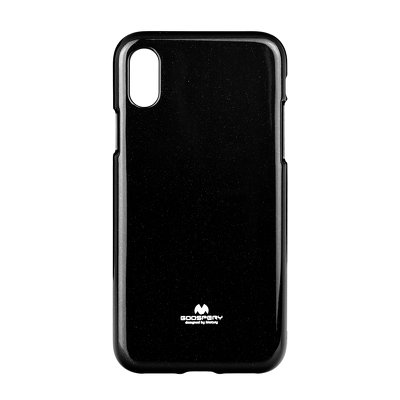 JELLY CASE MERCURY IPHONE X nero
