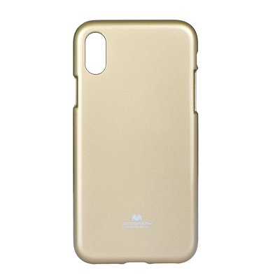 JELLY CASE MERCURY IPHONE X oro