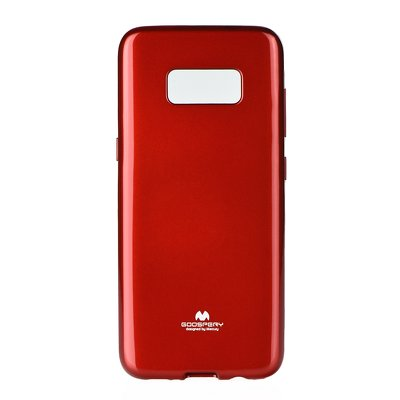 JELLY CASE MERCURY - SAM Galaxy S8 Plus rosso