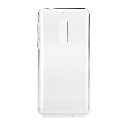 BACK CASE Ultra Slim 0,5mm - NOK 5 TRASPARENTE