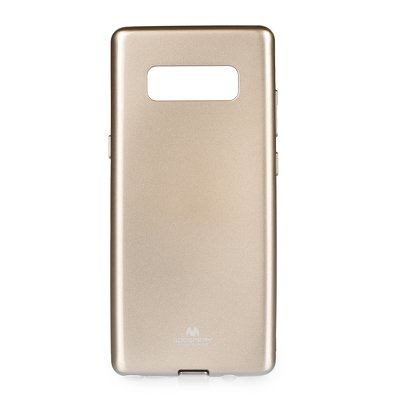 JELLY CASE MERCURY SAM Galaxy NOTE 8 oro