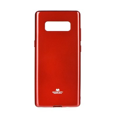 JELLY CASE MERCURY - SAM Galaxy NOTE 8 rosso
