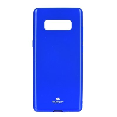 JELLY CASE MERCURY - SAM Galaxy NOTE 8 blu
