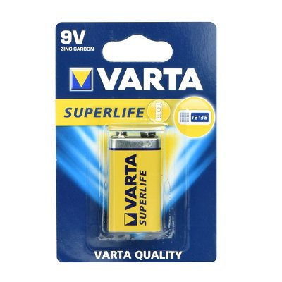 Batteria allo zinco Varta 9V 1 pz Superlife