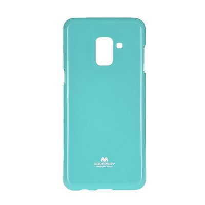 JELLY CASE MERCURY Galaxy A8 2018  menta