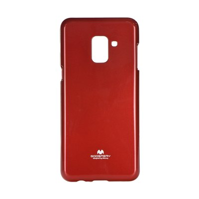Jelly Case Mercury - SAM Galaxy A8 2018  rosso