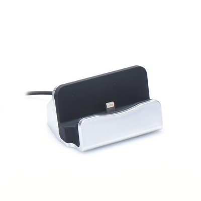 Docking station Apple Lightning argento
