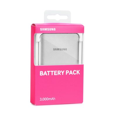 Originale Power Bank Samsung EB-PA300USEG (3000 mAh) silver blister