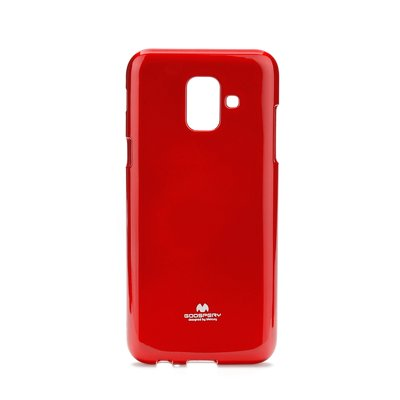 Jelly Case Mercury - SAM Galaxy A6 rosso