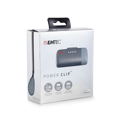 POWER BANK EMTEC U400 2600mAh per  iOS