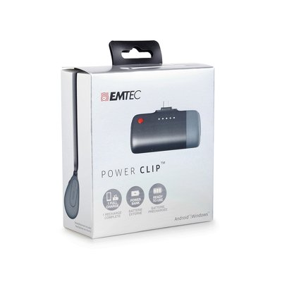 POWER BANK  EMTEC U400 2600mAh per  Android