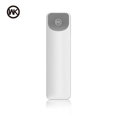 WK-Design Powerbank Nasi WP-025 2600mAh bianco