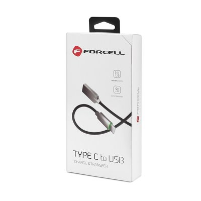 Kabel USB FORCELL Clever Type C 3.0