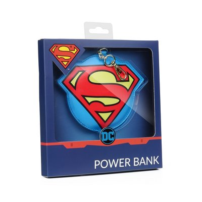 Power Bank with licence Superman 001 2200 mAh