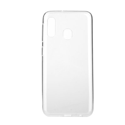 BACK CASE Ultra Slim 0,3mm - SAM Galaxy A20E  TRASPARENTE